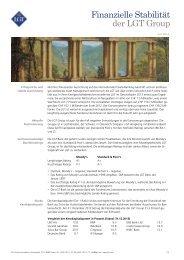 Factsheet Stabilität LGT