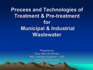 Process and Technologies of Treatment & Pre ... - Hwe.org.ps