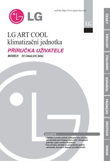 LG ART COOL klimatizaèní jednotka