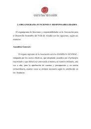 organigrama, funciones y responsabilidades - asociación para el ...