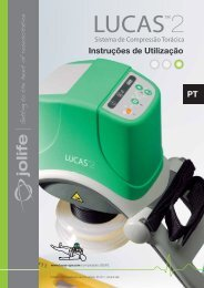 Instruções de Utilização PT - Lucas CPR