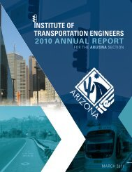 2010 ANNUAL REPORT - ITE Western District