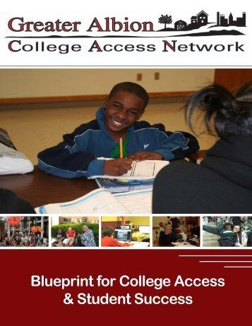 Blueprint for College Access & Student Success - Albion Community ...