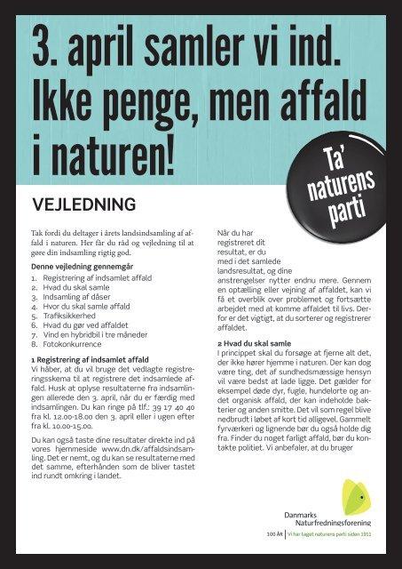 VEJLEDNING - Danmarks Naturfredningsforening