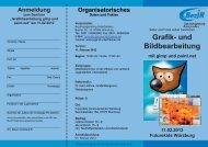 Grafik- und Bildbearbeitung - Bezirksjugendring Unterfranken