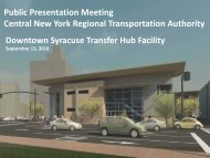 Transfer Hub Public Meeting Presentation and Renderings - Centro