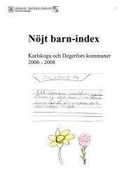 Nöjt Barn Index - Karlskoga kommun