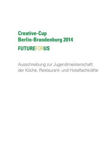 Ausschreibung Creative-Cup Berlin-Brandenburg 2014 - Verein der ...