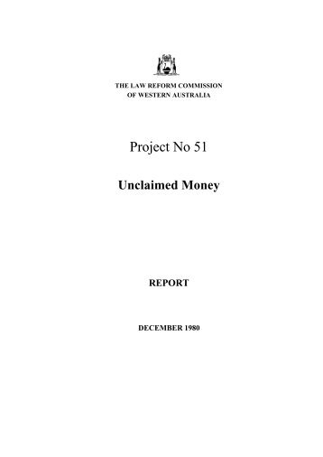 Final Report (December 1980) - Law Reform Commission of ...