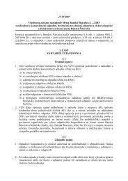 Všeobecne záväzného nariadenia Mesta Banská Štiavnica o ...