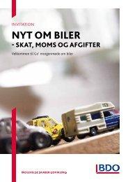 nyt om biler - BDO