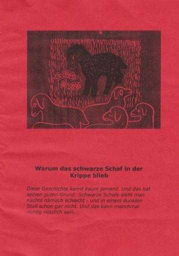 Adventsgeschichte 2011 - Katholische Pfarrgemeinde St. Georg Erfurt