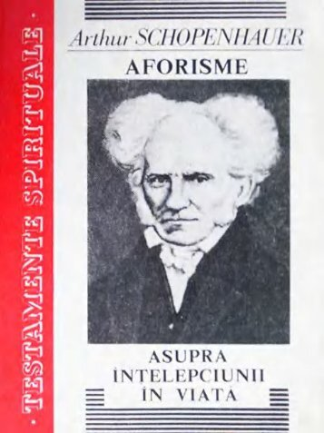 Aforisme asupra intelepciunii in viata-Silva-Press