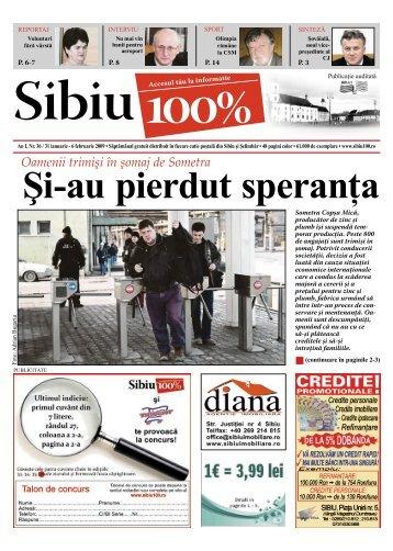 Şi-au pierdut speranţa - Sibiu 100