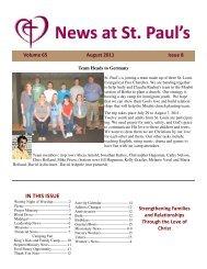 aug 11 - St. Paul's Evangelical Church