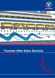 Fassmer After Sales Services - Fr. Fassmer GmbH & Co. KG
