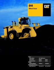 Specalog for 844 Wheel Dozer, AEHQ5307-01 - Kelly Tractor