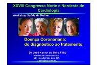 Doença Coronariana: do diagnóstico ao tratamento.