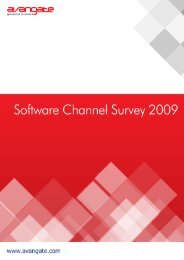 Software Channel Survey - results report