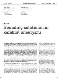 Bounding solutions for cerebral aneurysms - Nieuw Archief voor ...