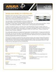 VIEW: Aruba Mobility Controller - Wavelink