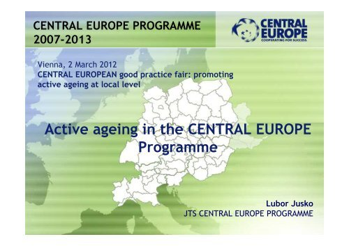 Active ageing in the CENTRAL EUROPE ... - Q-AGEING project
