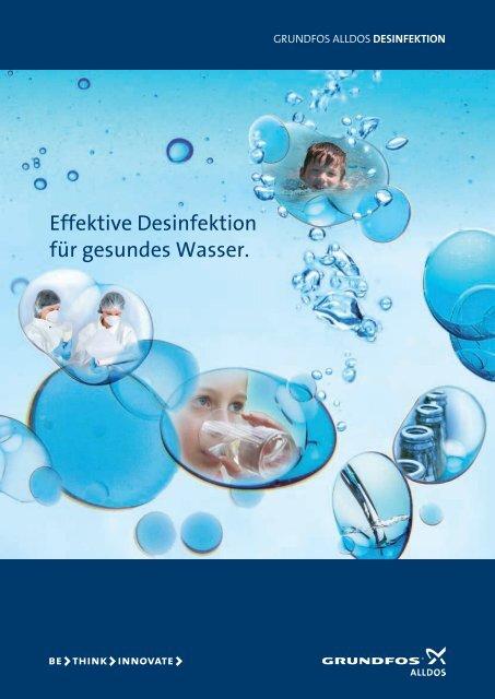 Effektive Desinfektion für gesundes  Wasser. -  Alldos