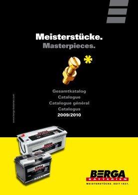 Berga AGM batteries. - page screenshot of berga-batterien.de
