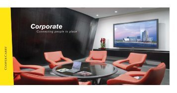 Corporate Specialty Practice Group Brochure - Cooper Carry