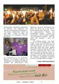 Juli & August - in der deutschsprachigen evangelischen Gemeinde ... - Page 7