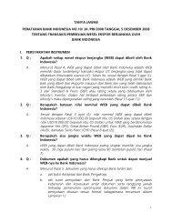 TANYA JAWAB PERATURAN BANK INDONESIA NO.10/ 34 /PBI ...