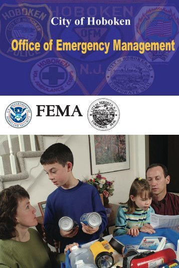 FEMA booklet. - Hoboken NJ
