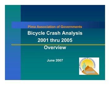 PAG Bicycle Crash Analysis 2001-2005 - AzBikelaw