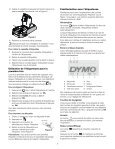 LabelManager 160 User Guide - DYMO - Page 6