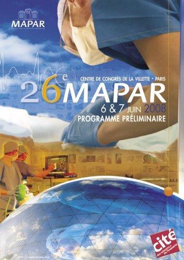 Programme - Mapar