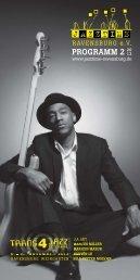 Jazztime Programm Herbst 2013