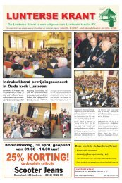 24 April - Digitaal Lunteren