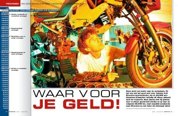 JE GE LD! - Gebben Motoren
