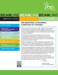 BEAMLINEBEAMLINEBEAMLINE - IBA Sterilization