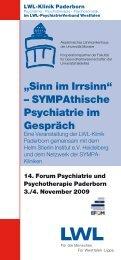 """""""Sinn im Irrsinnh n SYMPAthische Psychiatrie im Gespräch - Trialog ..."""