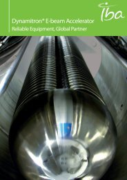 Dynamitron® E-beam Accelerator - IBA Industrial