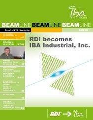 Beamline n°19 - February 2008 - IBA Industrial