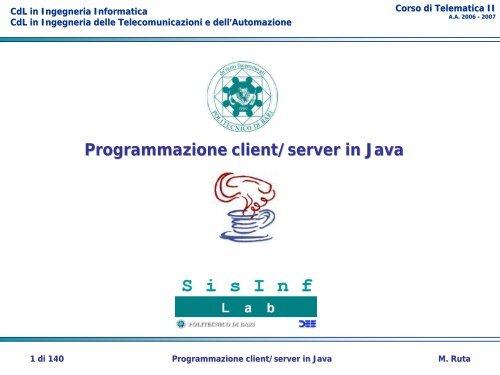 Server di matchmaking Java