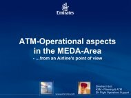 ATM-Operational aspects in the MEDA-Area - World Air Ops