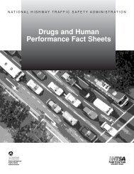 Drugs and Human Performance Fact Sheets - Washington State Patrol