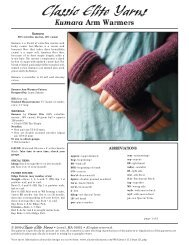 Kumara Arm Warmers - Classic Elite Yarns