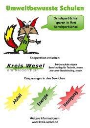 Umweltbewusste Schulen - Kreis Wesel