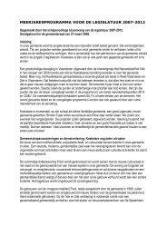 Beleidsverklaring 07 - Gemeente Koekelare
