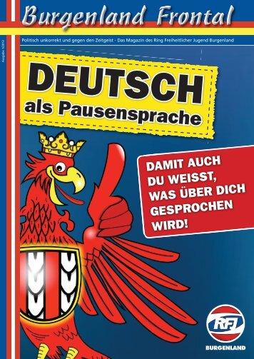 klicken um Magazin runterzuladen! - Freiheitliche Jugend Burgenland