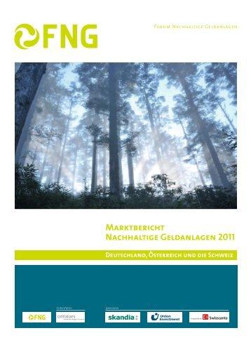 Marktbericht Nachhaltige Geldanlagen 2011 - Deutschland ...